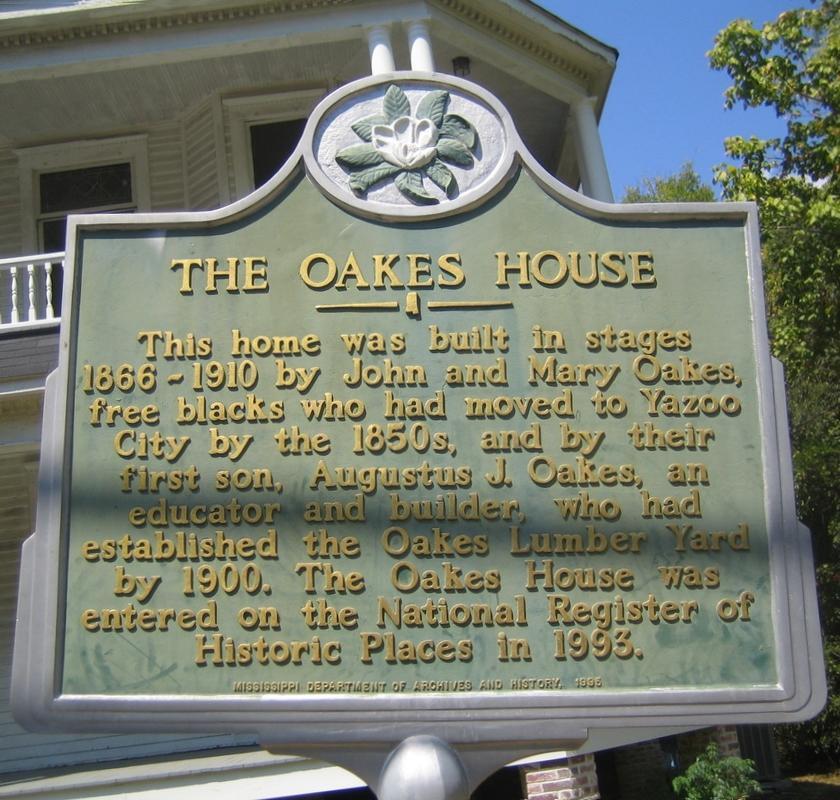 The Oakes House | Yazoo County